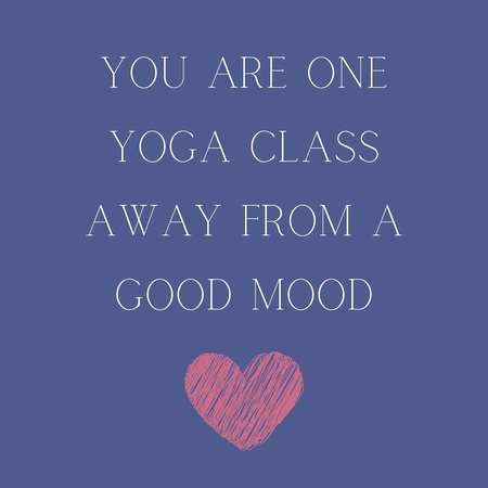One yoga class away from a good mood (1)